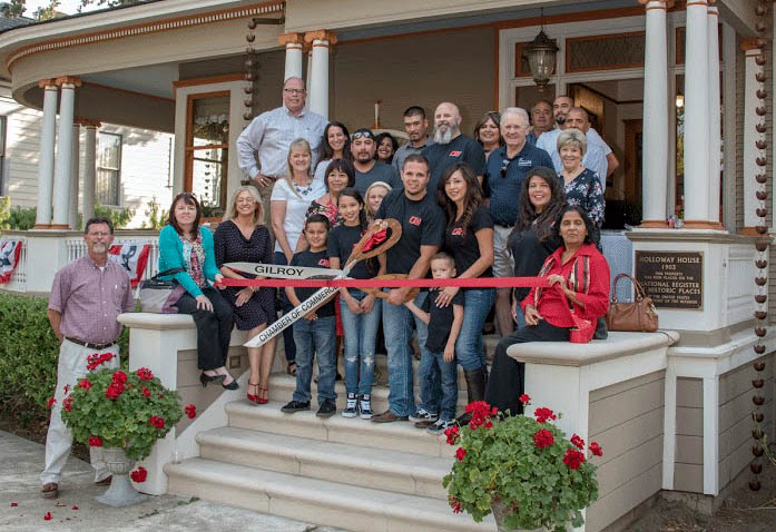 Ribbon Cutting — Chad's Roofing