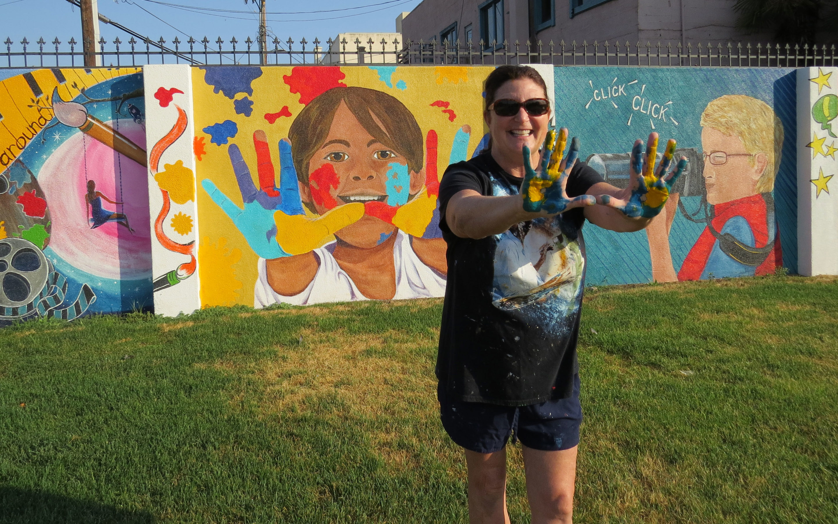 Leadership Gilroy class project celebrates arts with mural