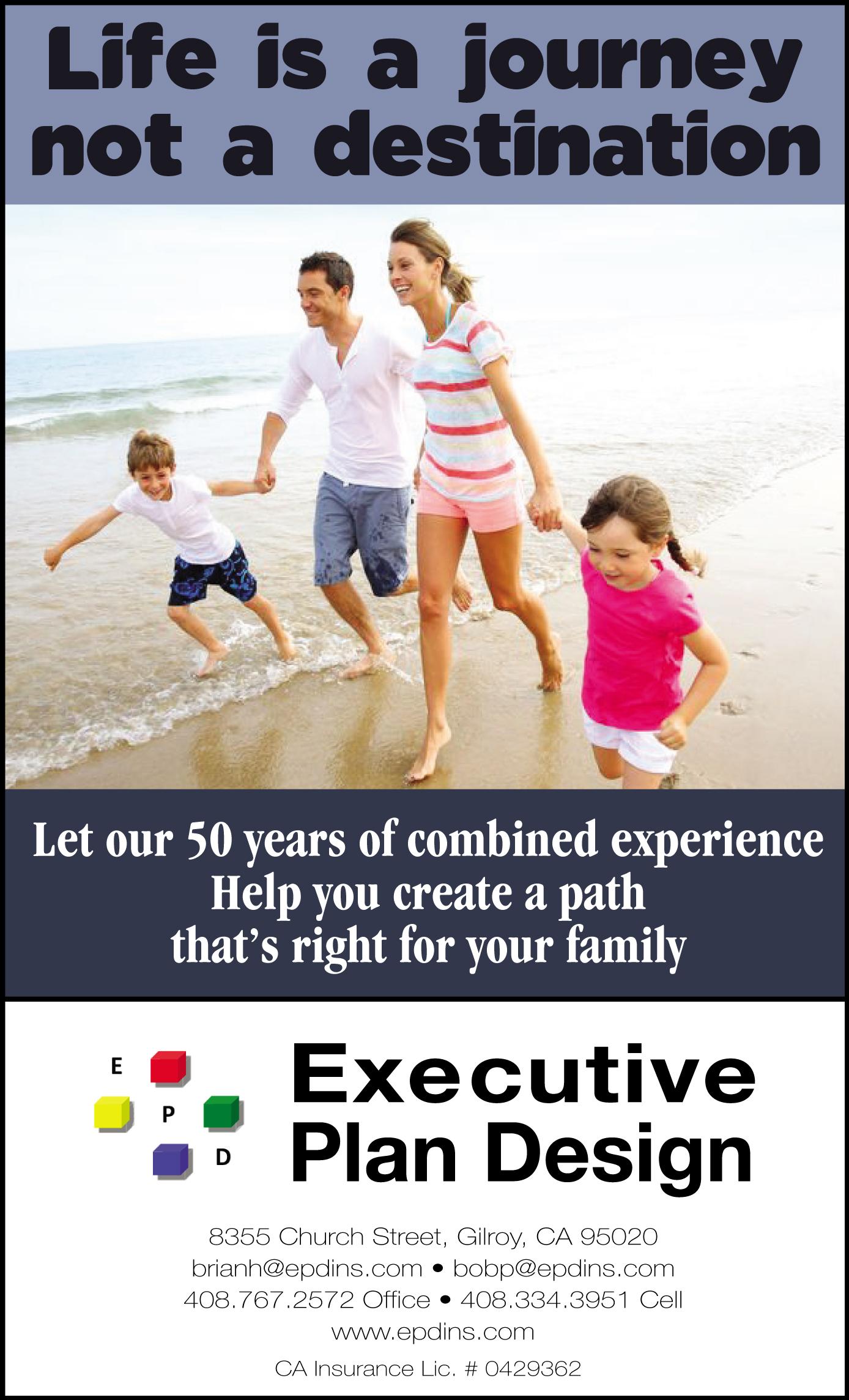 executive plan design gilroy life