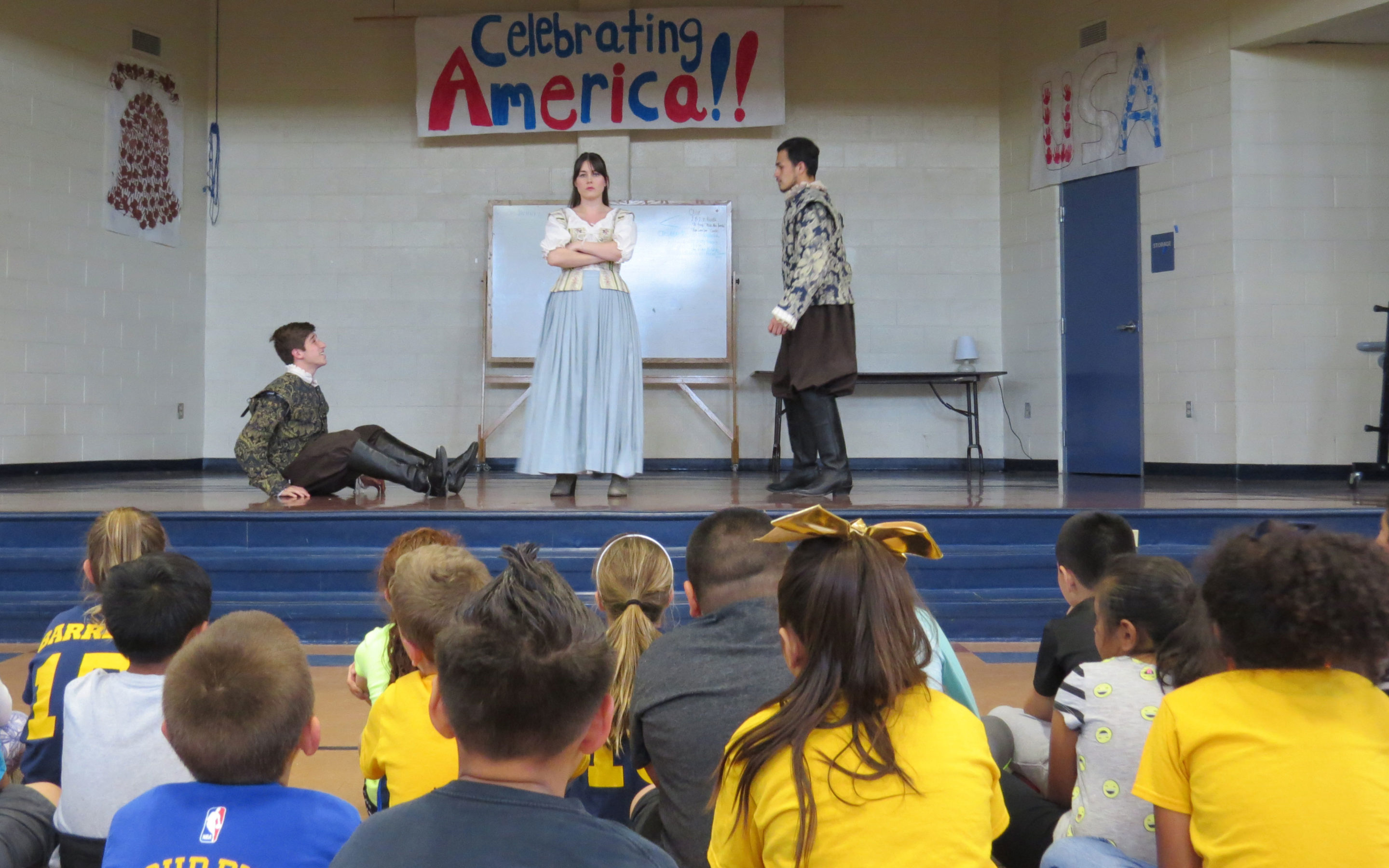 Main story – Gavilan actors introduce Shakespeare to third-graders