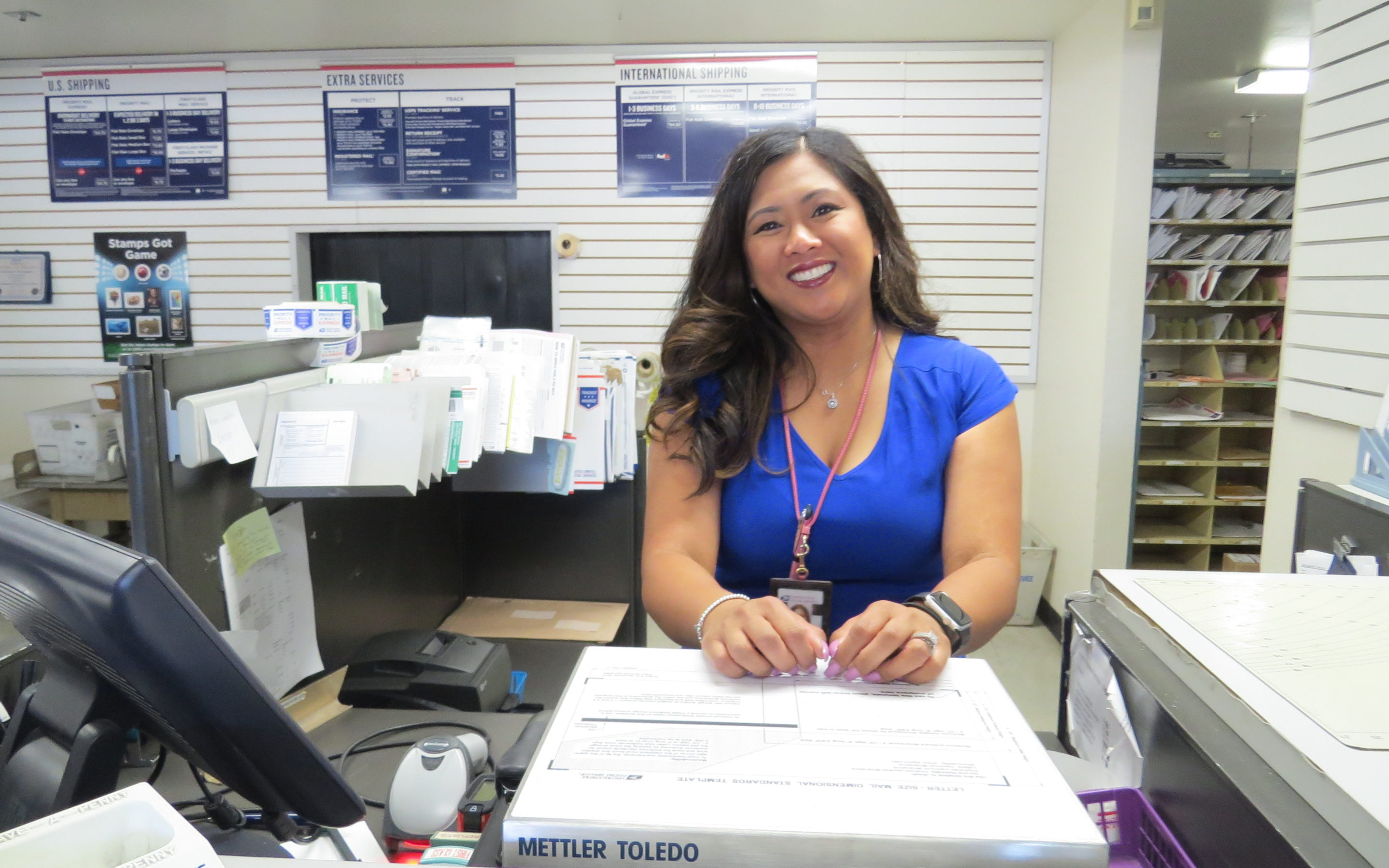 Main story – San Martin postmaster believes in building a community