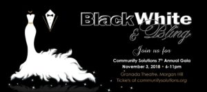 Black, White & Bling Gala @ Granada Theater | Morgan Hill | California | United States