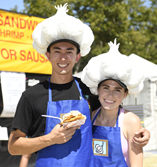 Garlic Festival Volunteers – Profile of five local people who give back
