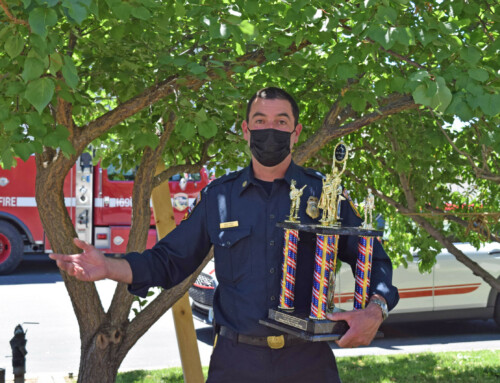 Fire chief honored for leading crews during last year's SCU Lightening Complex Fire