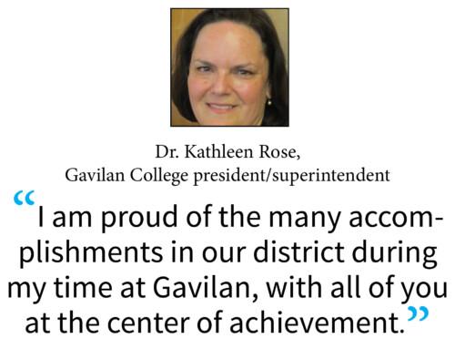 Gavilan College Superintendent Dr. Kathleen Rose announces retirement